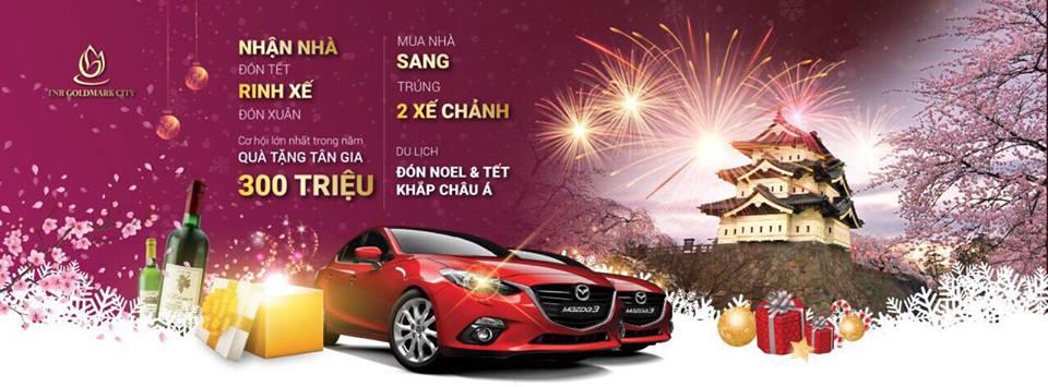 Việt Nam vô địch, mua Goldmark bốc ngay 2 xe Mazda 3 chỉ từ 23tr/m