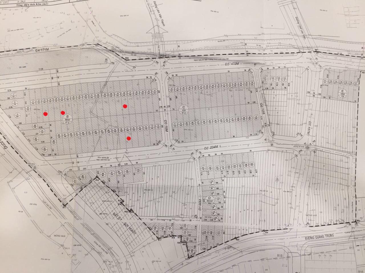 Cần tiền bán gấp đất nền sổ đỏ chính chủ KDC Kim Châu - An Nhơn...